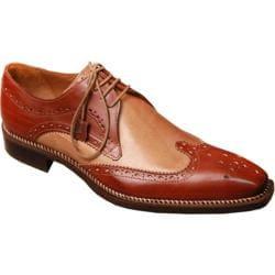 Men's Giovanni Marquez 8945 Burnished Mahogany Leather - Thumbnail 0