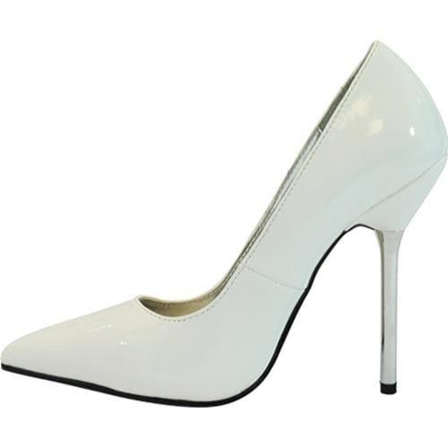 Women's Highest Heel Brazil White Patent