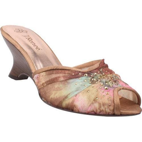 Women's J. Renee Kate Blush Multi Fabric/Mesh