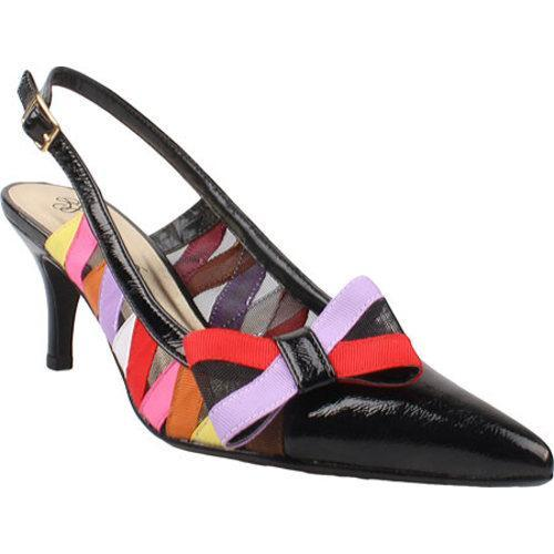 Women's J. Renee Nettle Black/Bright Multi Fabric/Mesh/Polyurethane