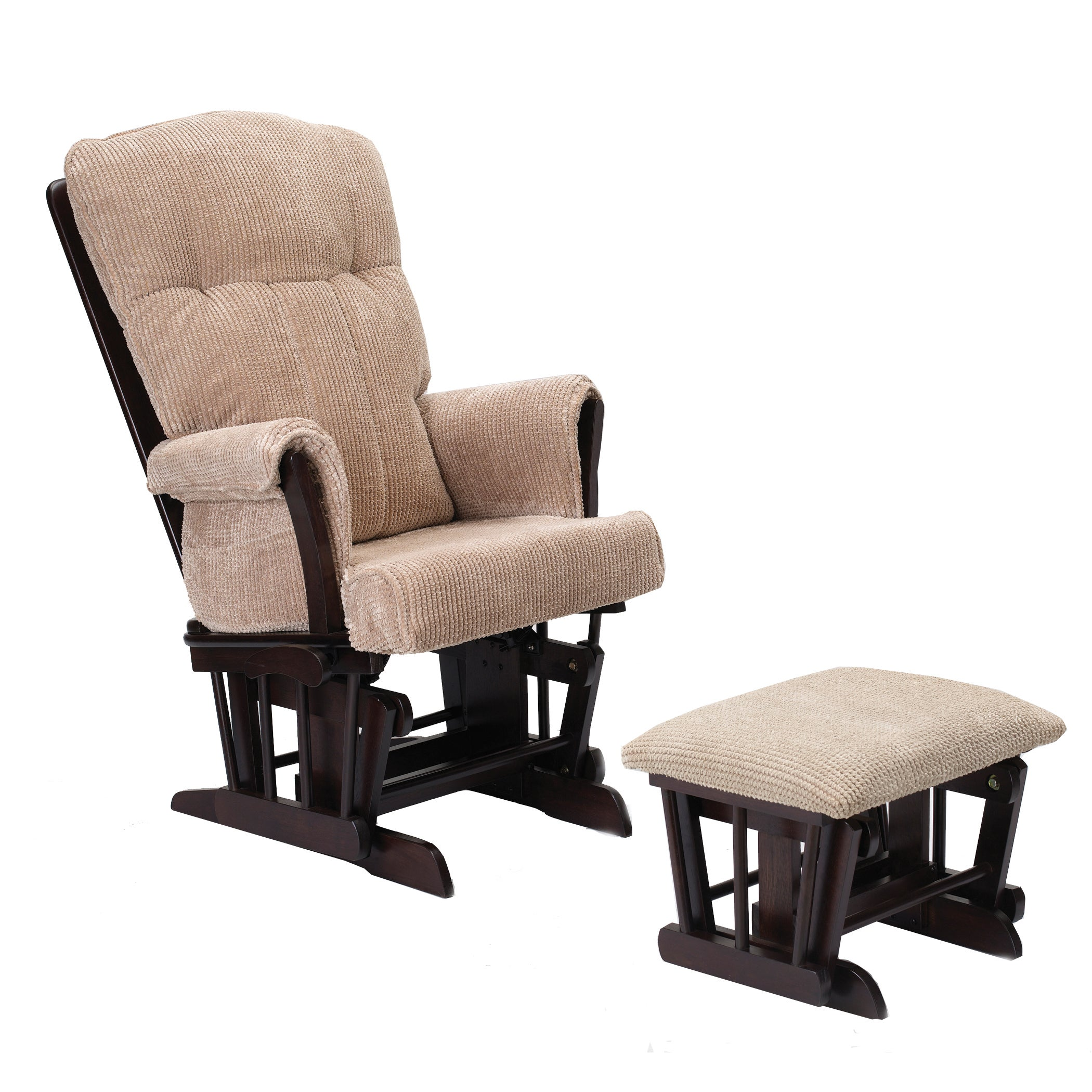 Glider Rocker With Ottoman Free Shipping Today