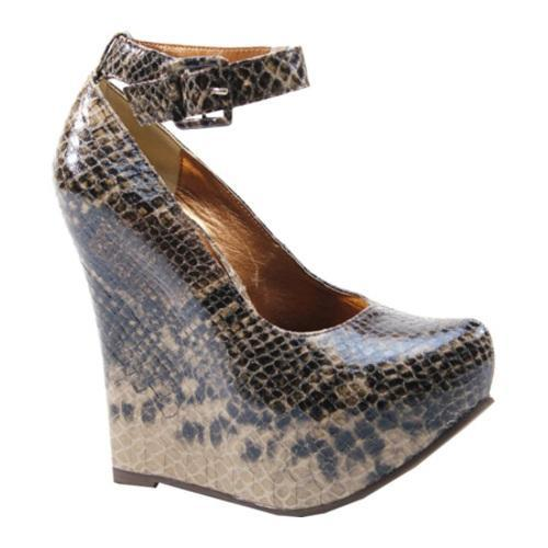 Women's Luichiny Do Again Brown Print Imi Leather
