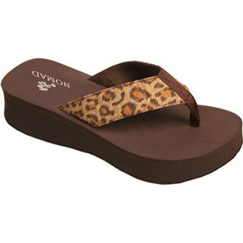 Women's Nomad Cheebo Brown Leopard