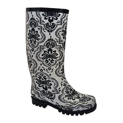 Women's Nomad Puddles II White/Black Floral
