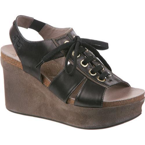 Women's OTBT Trenton Black Leather