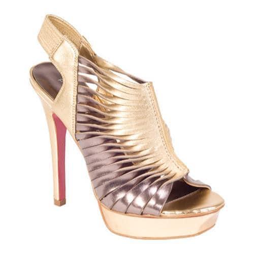 Women's Paris Hilton Reznor Gold/Pewter