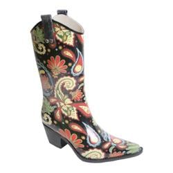 Women's Nomad Yippy Black Multi Paisley