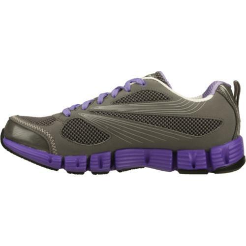 Women's Skechers Stride Gray/Purple