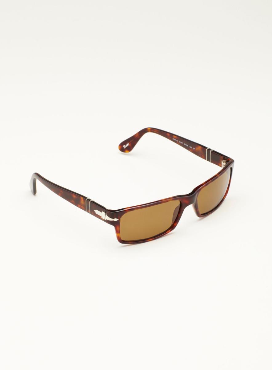 PERSOL Persol Small Square Plastic Sunglasses