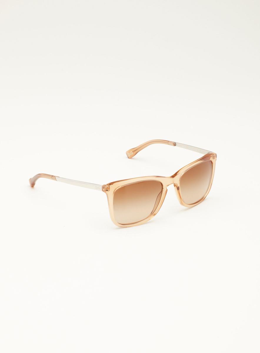 Dolce & Gabbana D&G Khaki Plastic Metal Sunglasses