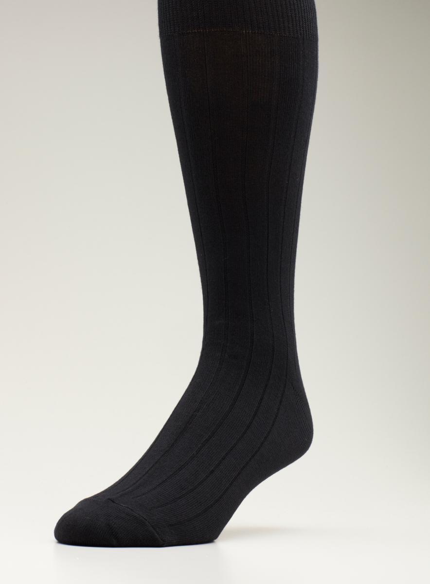 Kenneth Cole Dress Sock Modal Cotton Rib 4Pk