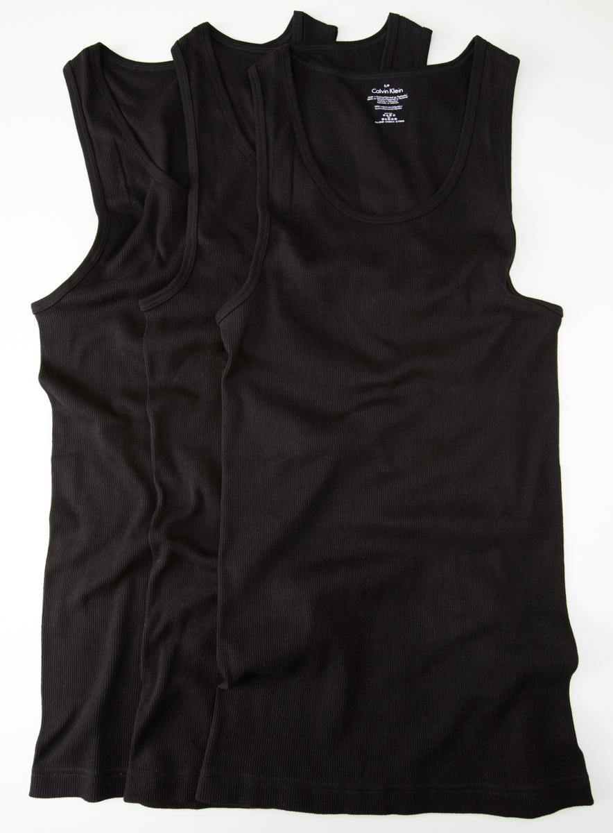 Calvin Klein Underwear 3 Pack Tank Undershirt