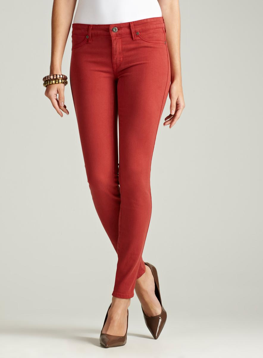 Rich & Skinny Marilyn Skinny Jean In Red