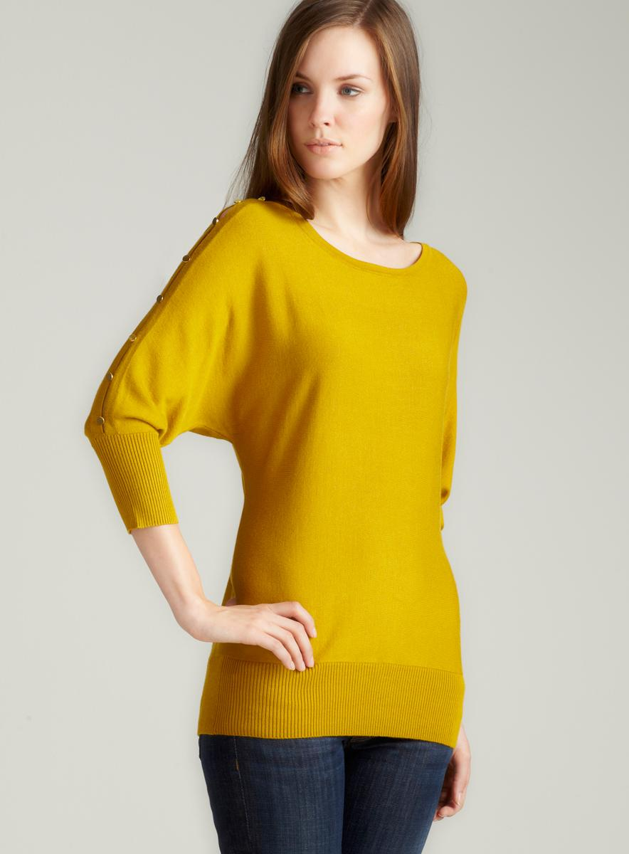 Thea Curry Dahl 3/4 Sleeve Pullover