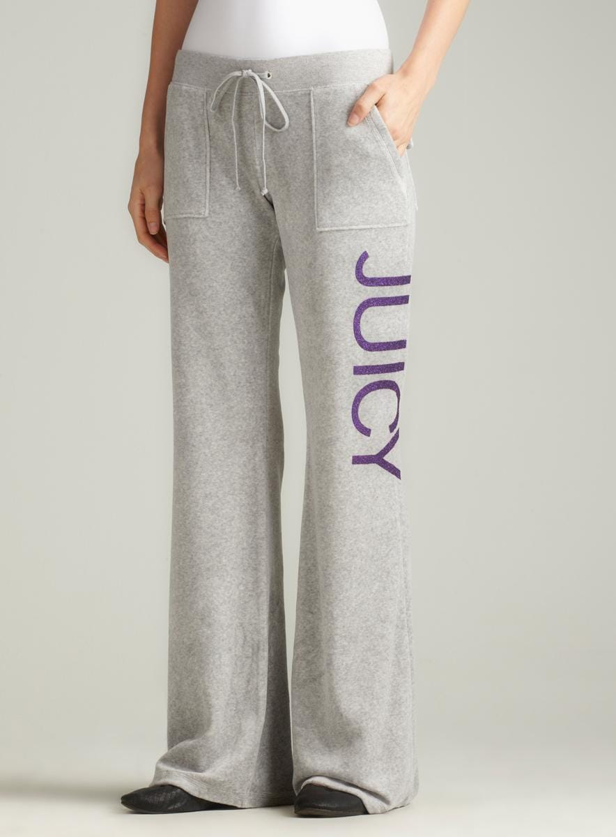 Juicy Couture Snap Pant With No. 1 Juicy