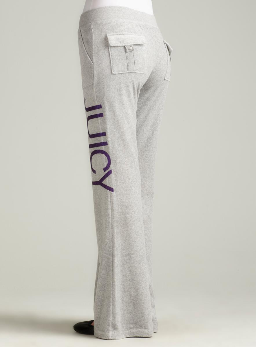 Juicy Couture Snap Pant With No. 1 Juicy - Thumbnail 1