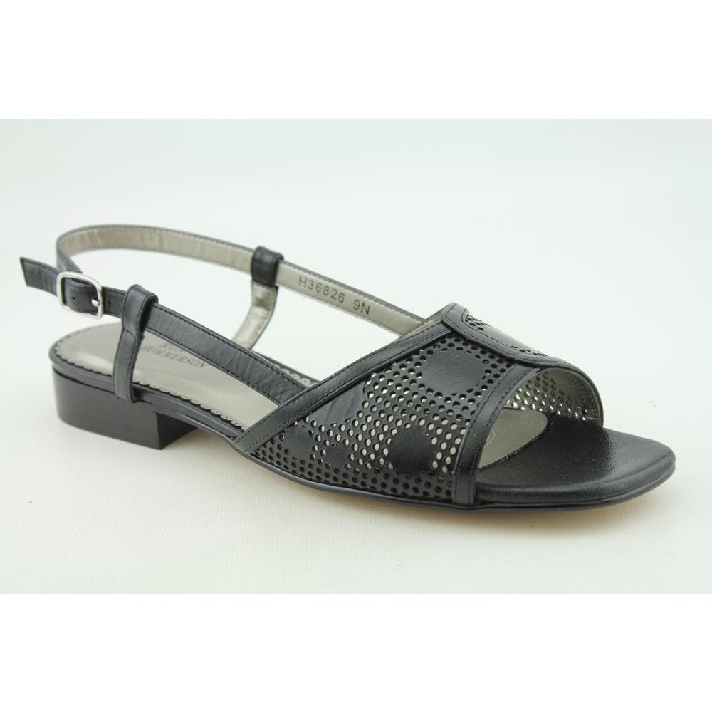 Ros Hommerson Women's 'Madras' Leather Sandals Wide (Size 7)