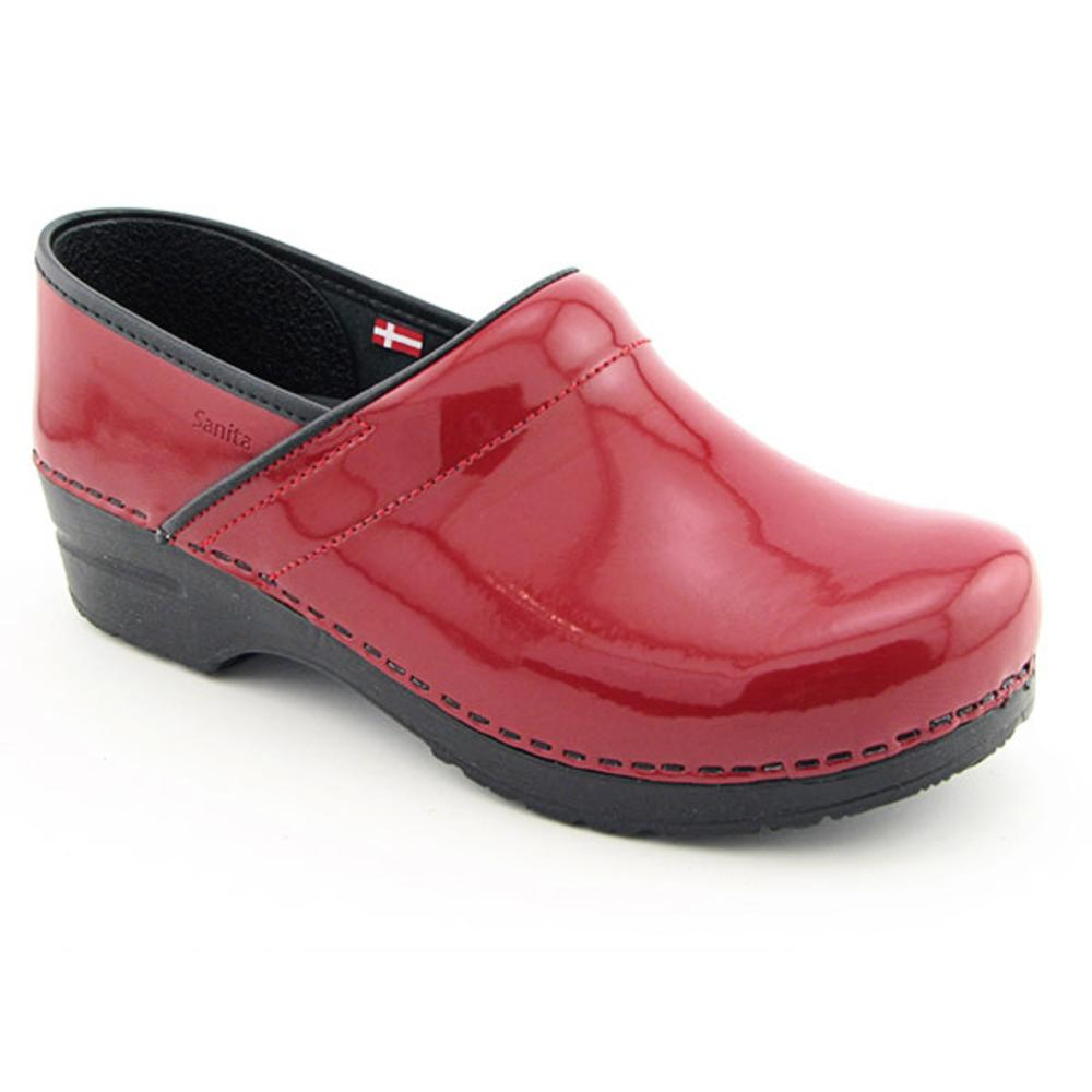 Sanita Women's 'Professional Patent' Patent Leather Occupational Shoes(Size 11.5)