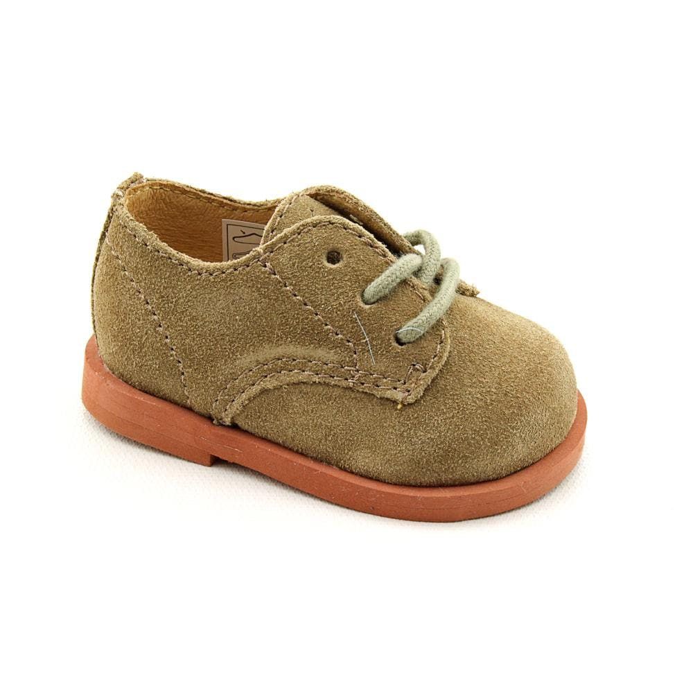 Ralph Lauren Layette Boy's 'Morgan' Regular Suede Dress Shoes