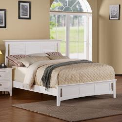 beautiful white queen size beds from us stores | Shop Medway Queen-size White Wood Bed - Free Shipping ...