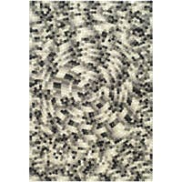 Safavieh Handmade Soho Mosaic Modern Abstract Black Wool Rug - 8'3 x 11'