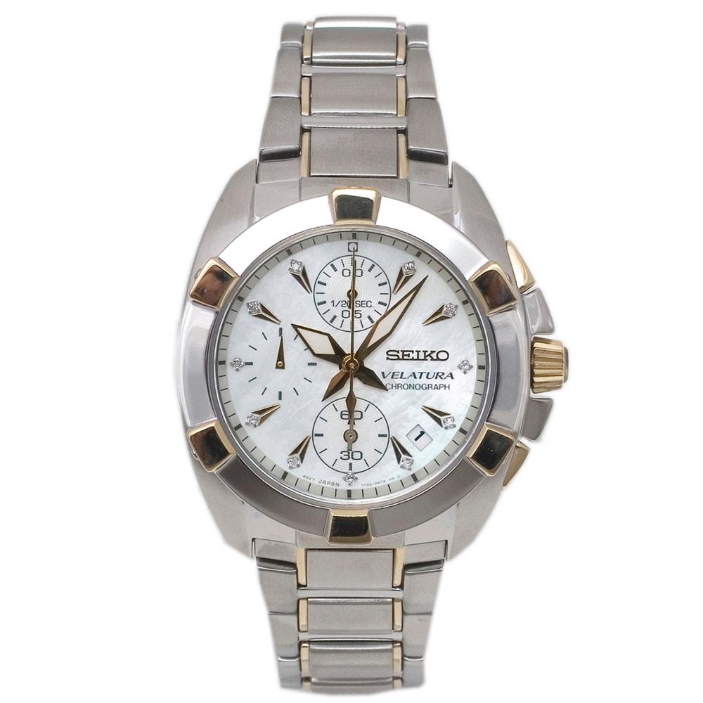 Seiko Women's Velatura Stainless Steel Watch