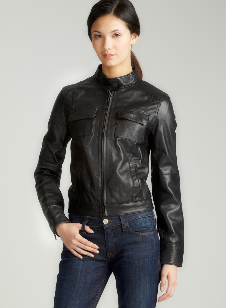 Members Only Sylvia Leather Jacket