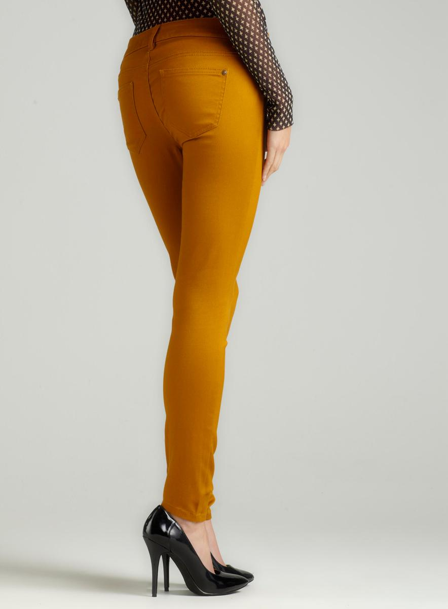 Tinseltown Color Skinny Jean In Dijon - Thumbnail 1