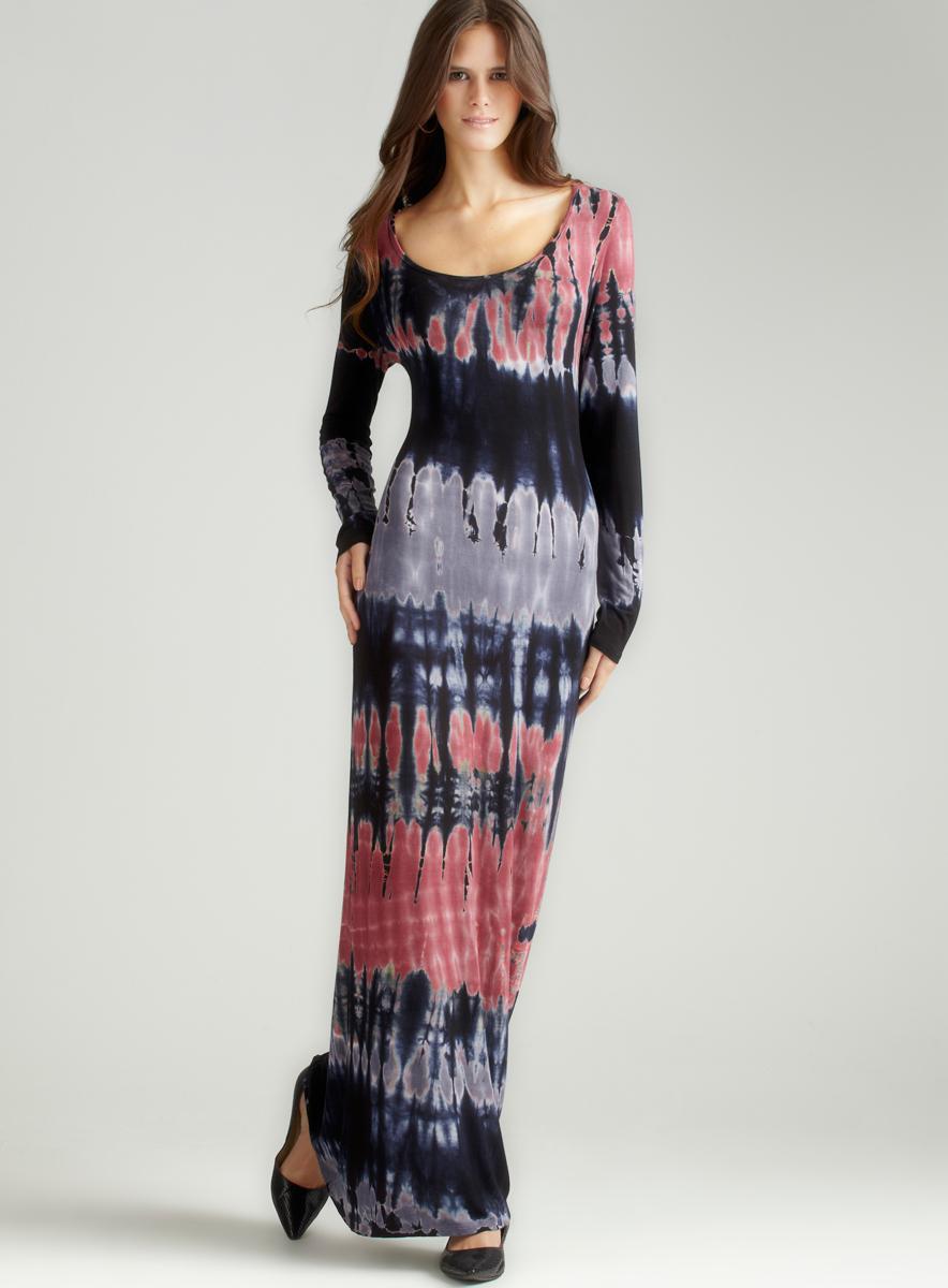Romeo & Juliet Couture Tie Dye Maxi Dress