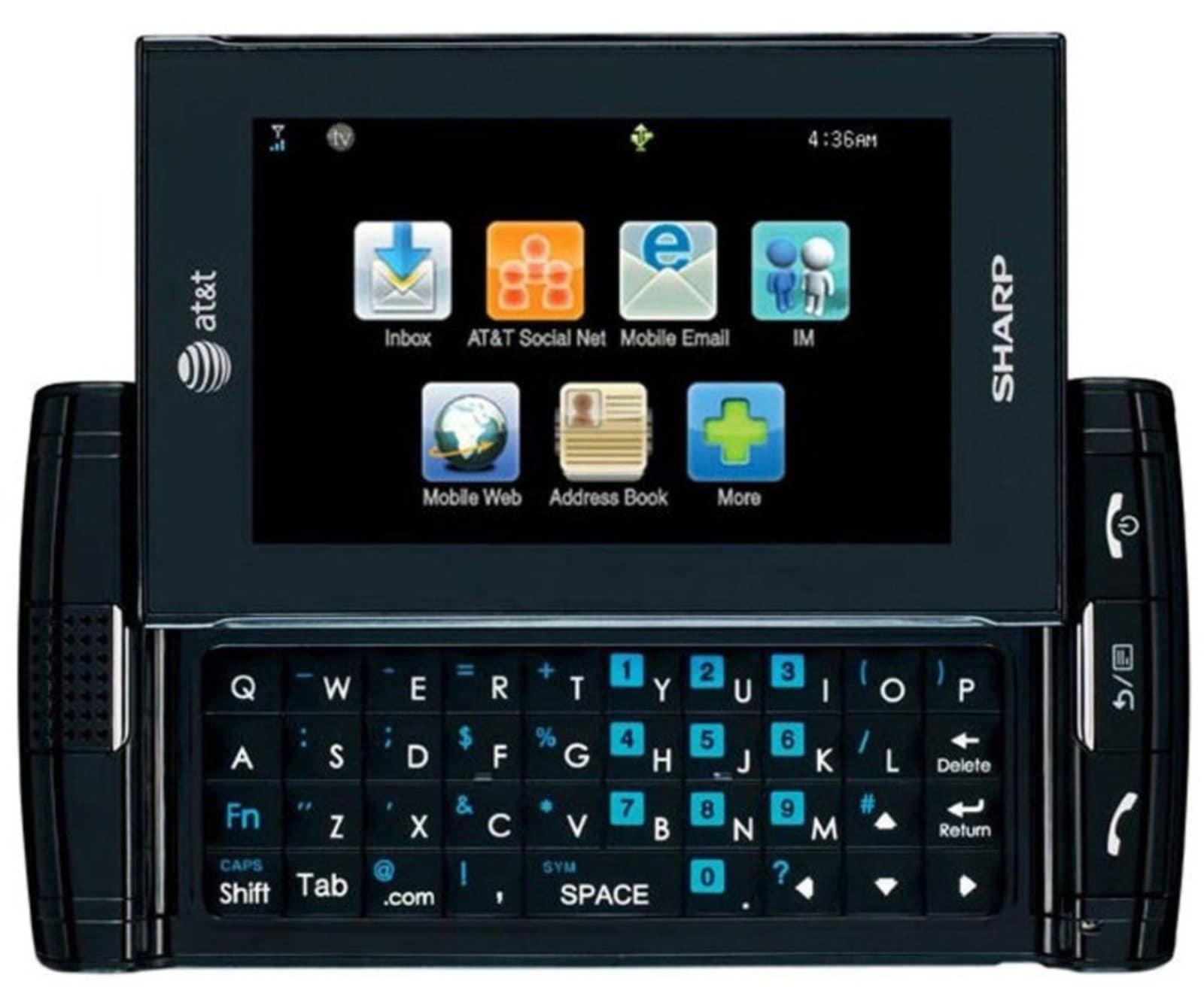 Sharp FX STX-2 GSM Unlocked Slider Cell Phone