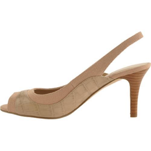 Women's Bandolino Gilded Taupe/Natural Leather - Thumbnail 2