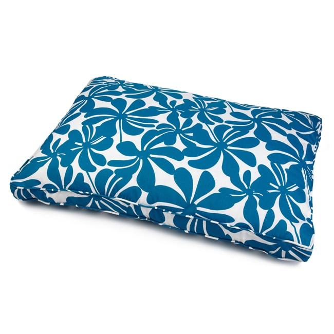 Sweet Dreams Indoor/ Outdoor Blue Floral Pet Bed