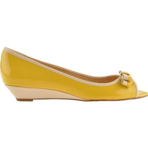 Women's Circa Joan & David Enbry Yellow Patent - Thumbnail 1