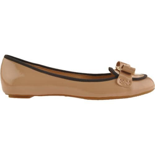 Women's Circa Joan & David Genoveva Light Taupe/Black Patent