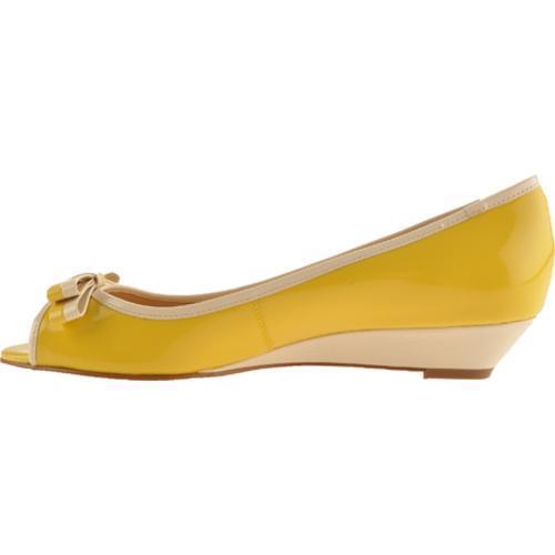 Women's Circa Joan & David Enbry Yellow Patent - Thumbnail 2
