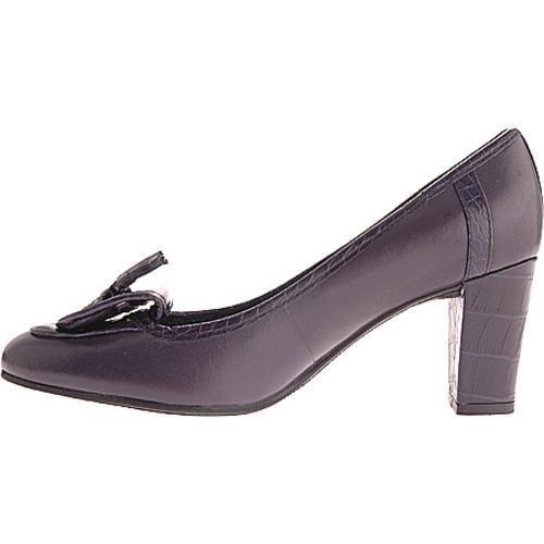Women's Enzo Angiolini Turvy Navy Leather - Thumbnail 2