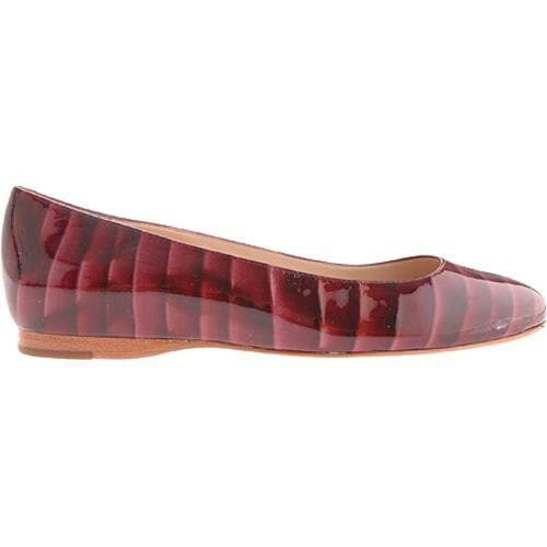 Women's Joan & David Ashling 7 Dark Red Patent