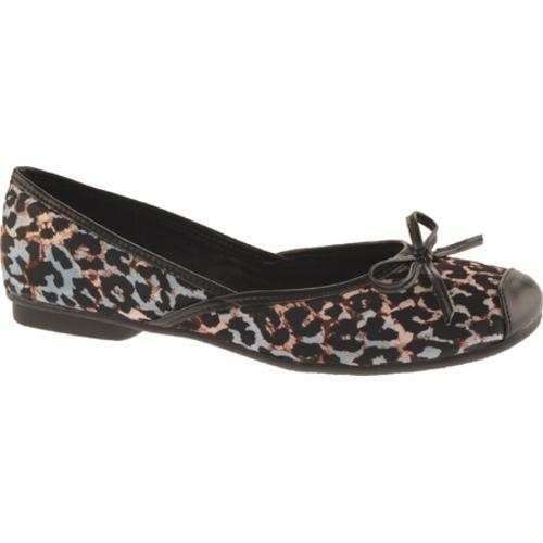 Women's Sam & Libby Zees Blue/Pewter/Painted Cheetah Fabric