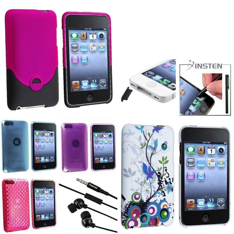 TPU Case/ Protector Case/ Headset for Apple iPod Touch Generation 2/ 3