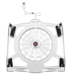 Notebook Cooling Fan with LED Lights/ 4-port USB Hub/ INSTEN Headset - Thumbnail 1
