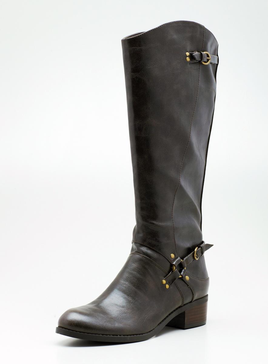 Unisa Low Heel Hi Shaft Riding Boot
