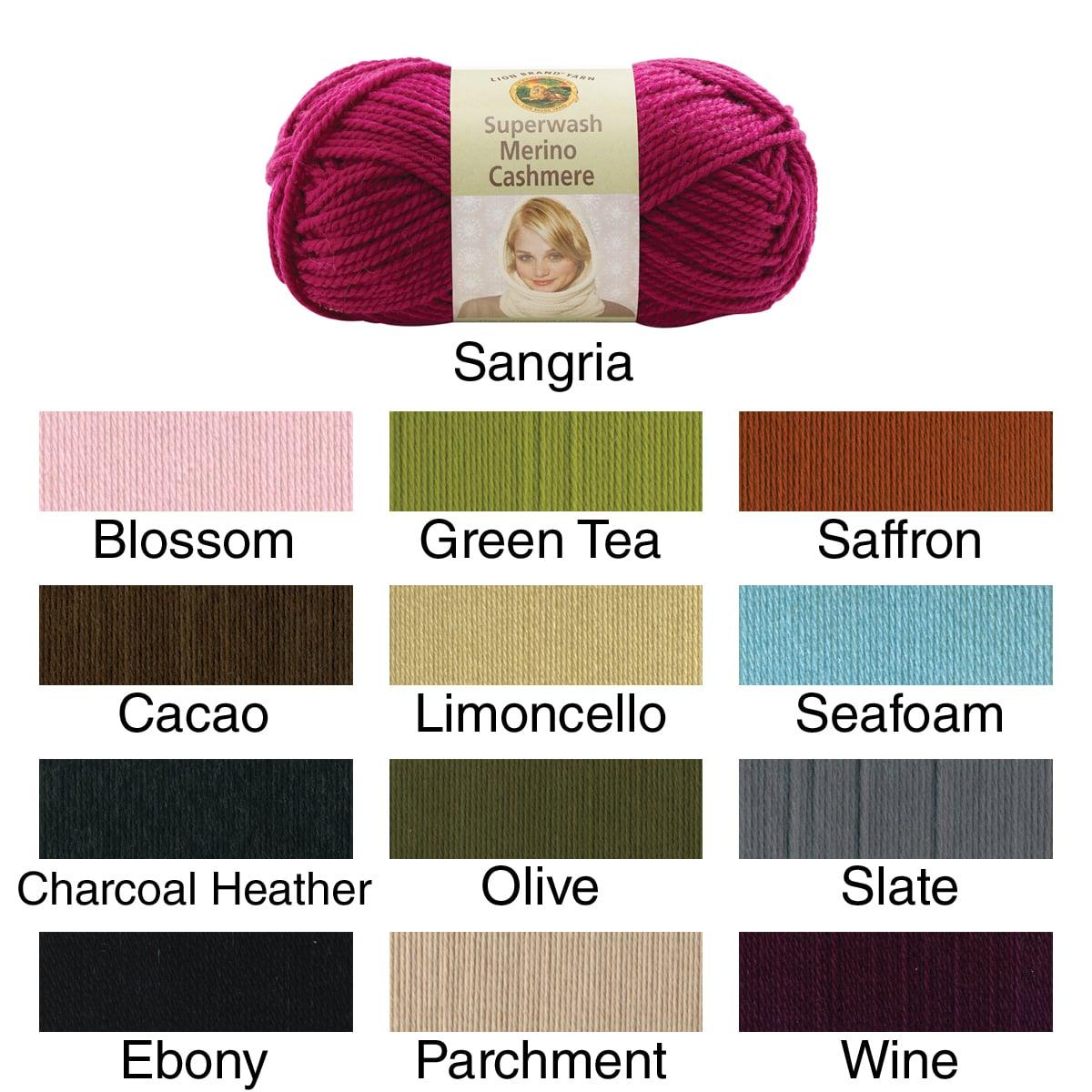 Superwash Merino Cashmere Yarn