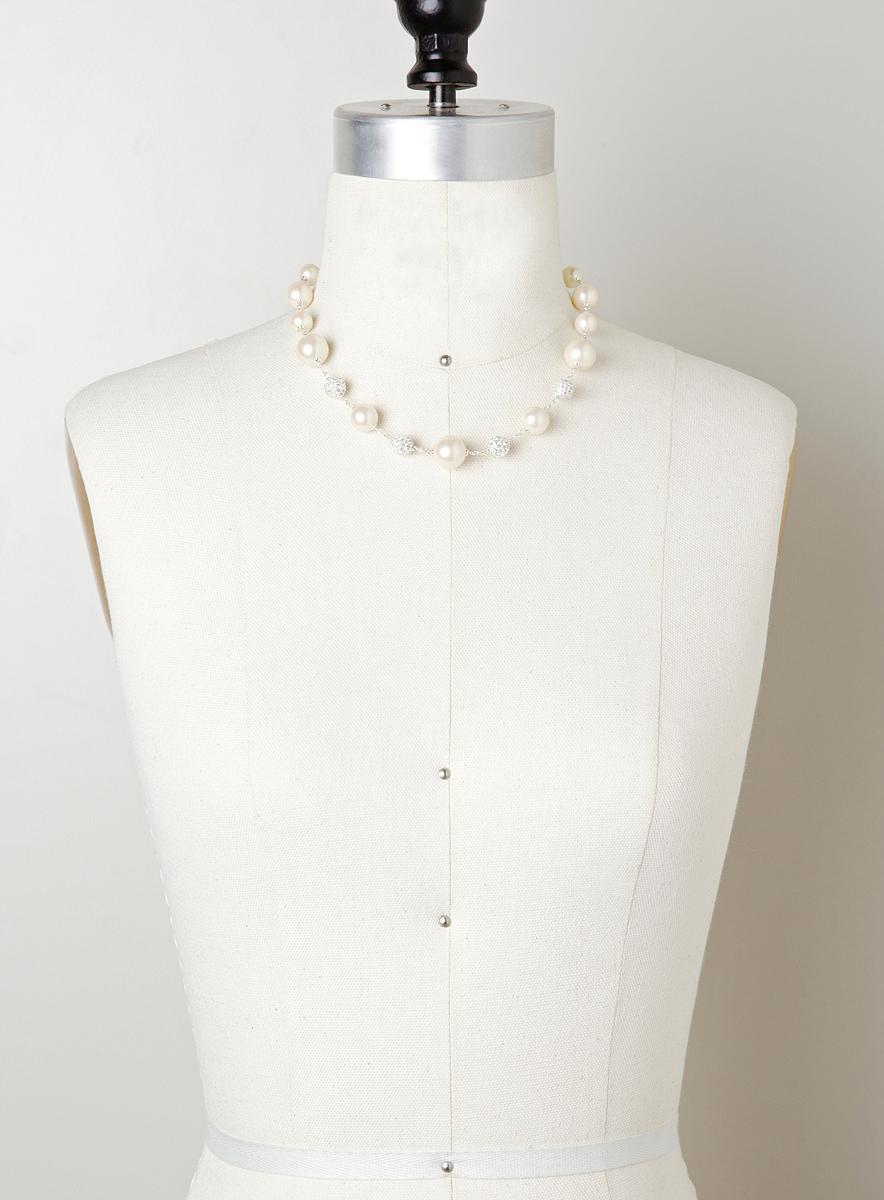 Giselle Isabella 16 Illusion Strand Necklace