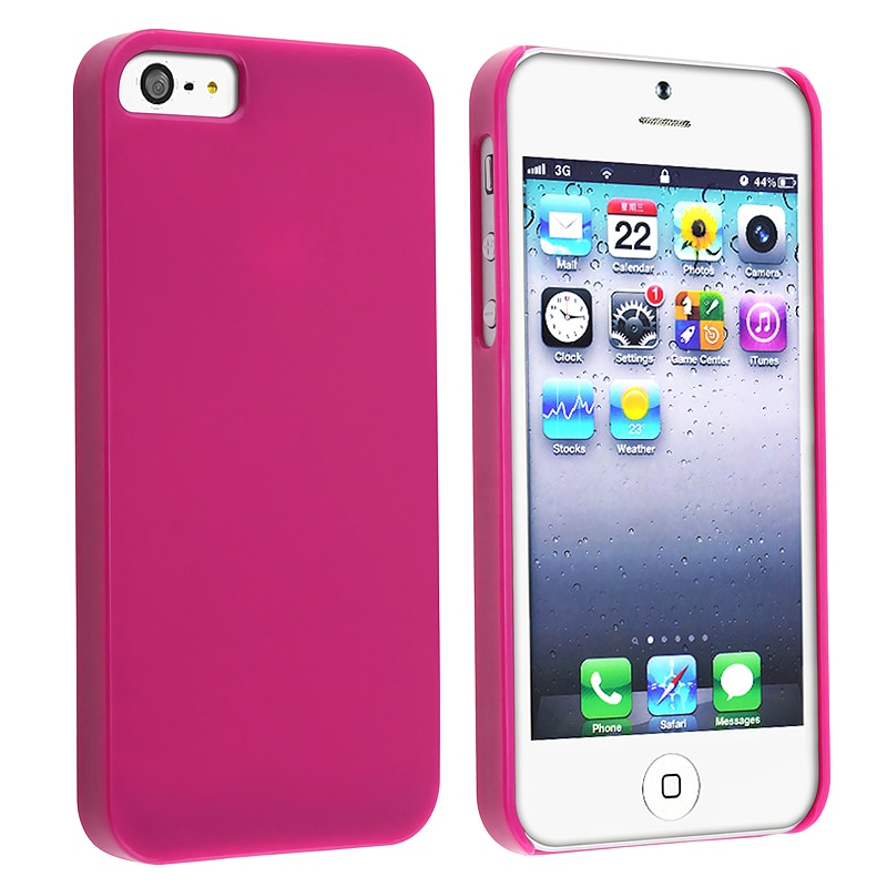 BasAcc Protex Solid Hot Pink Snap-on Case for Apple iPhone 5