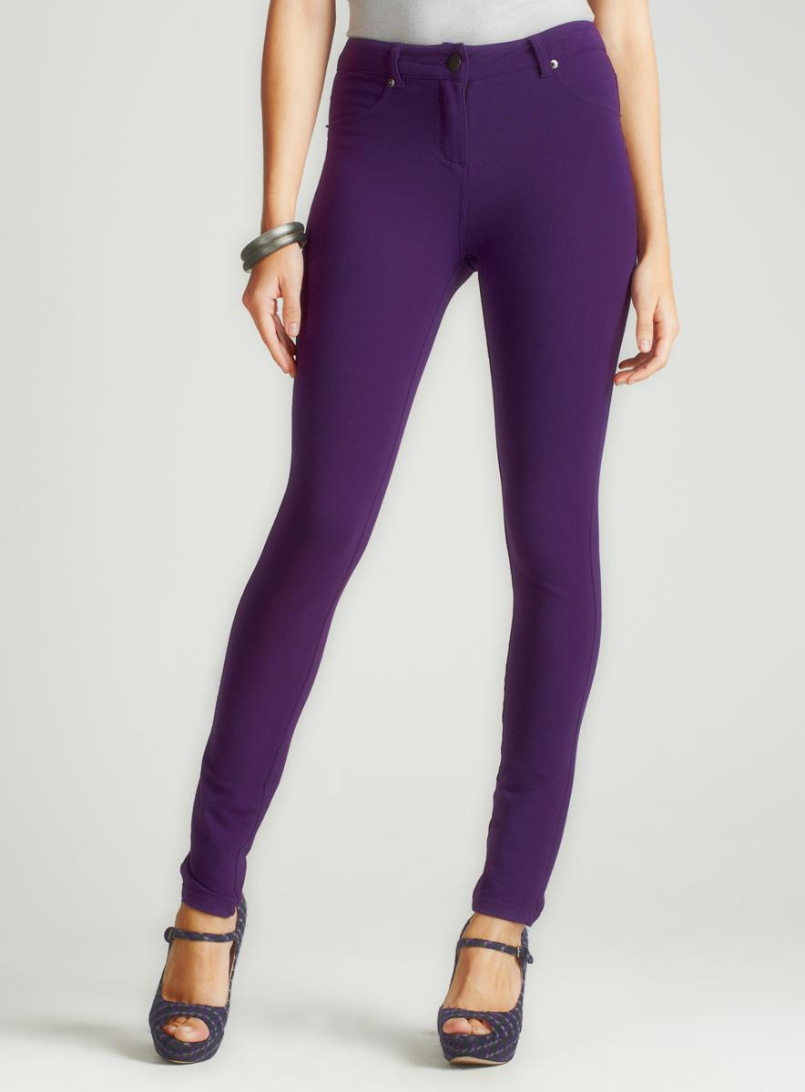 Romeo & Juliet Couture Skinny French Terry Pant