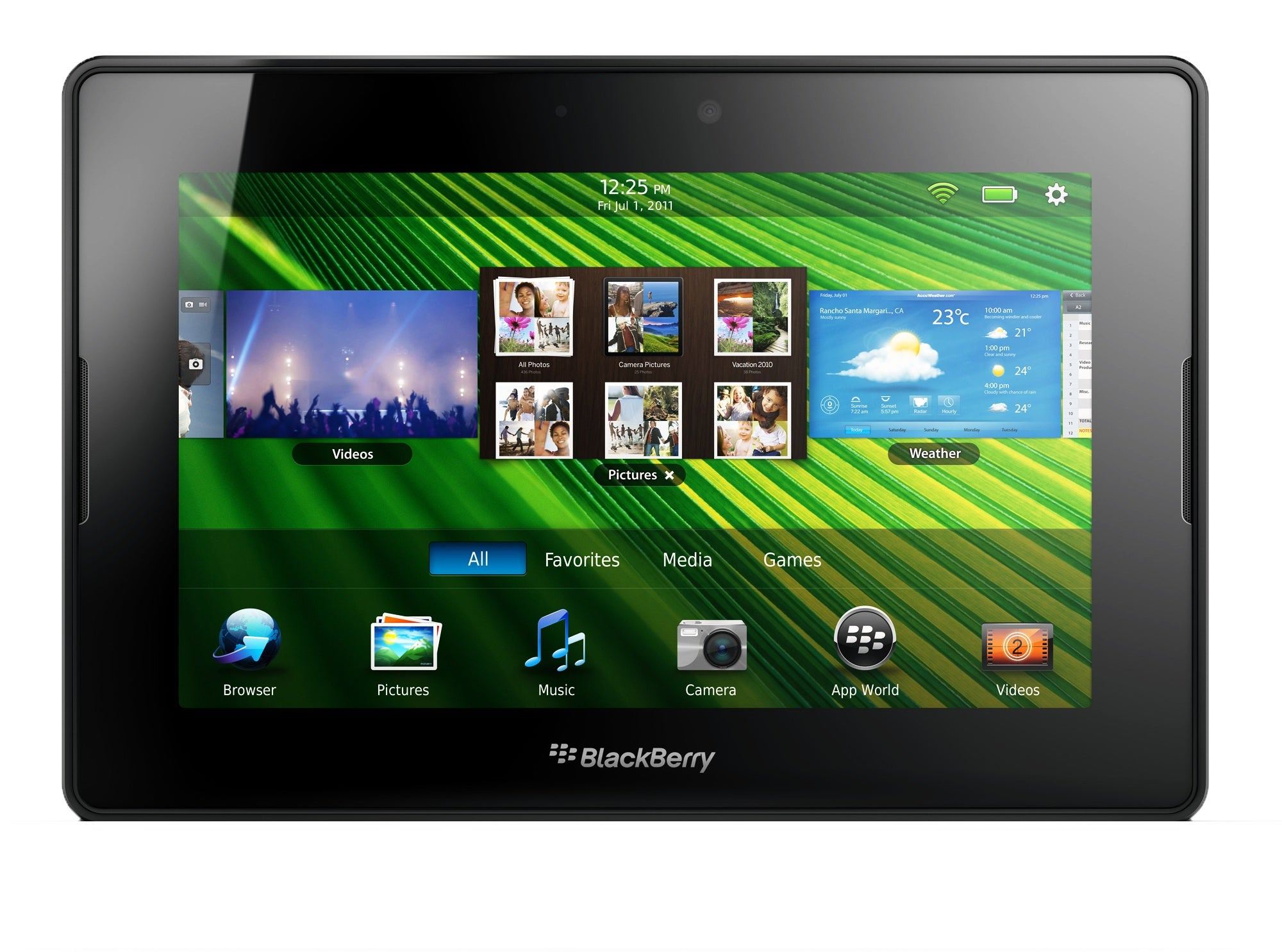 "Blackberry PlayBook 64GB 7"" Multi-Touch Tablet PC 1 GHz Dual-Core Processor"