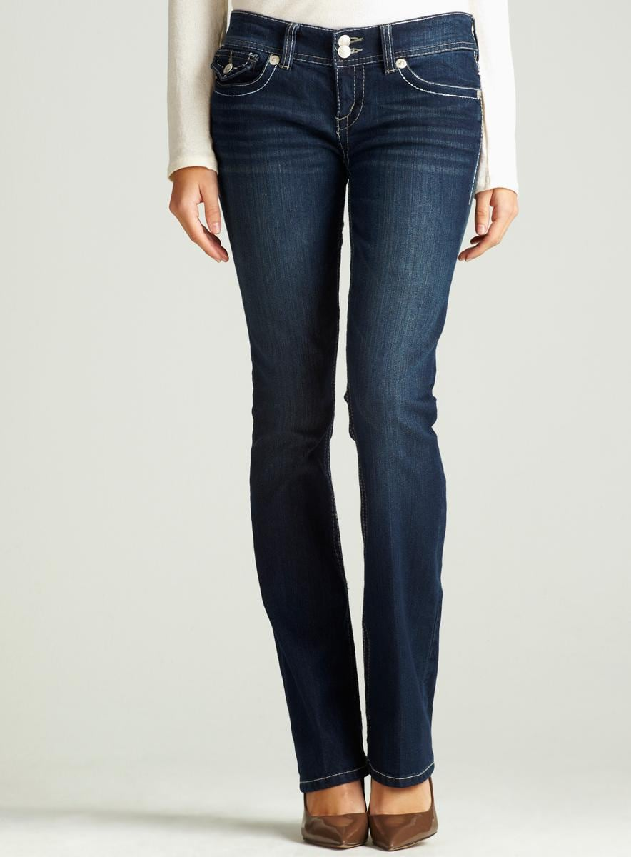 Seven 7 Boot Jean With Flap Pocket