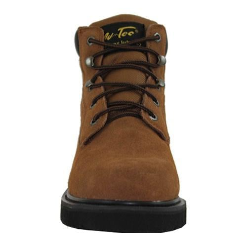 Men's AdTec 9315 Work Boots 6in Brown - Thumbnail 2