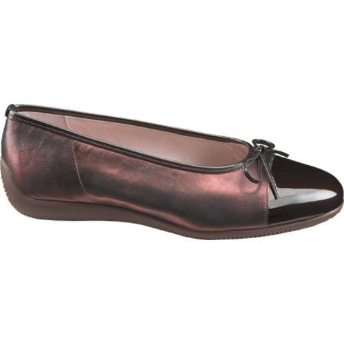 Women's Ara Bari 43716 Bronze/Brown Patent