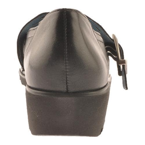 Women's Ara Amber 32739 Black Leather - Thumbnail 1